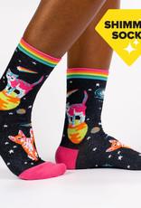 Sock It To Me WOMEN'S CREW: SPACE CATS