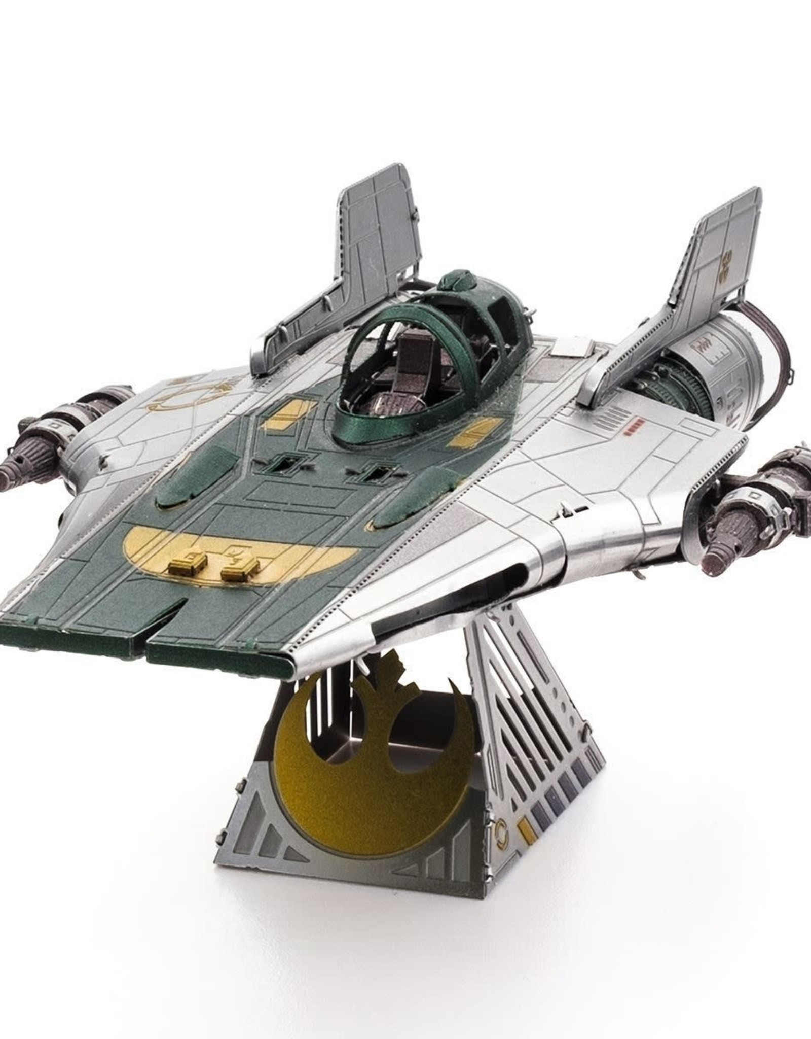 MetalEarth M.Earth, S.Wars A-Wing Fighter, 2 sheets