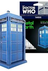 MetalEarth M.E., Dr. Who Tardis, 2 sheets