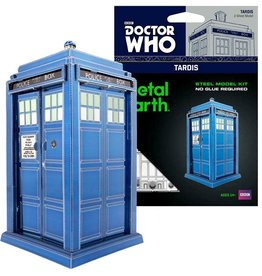 MetalEarth M.E., Dr. Who Tardis, 2 sheets