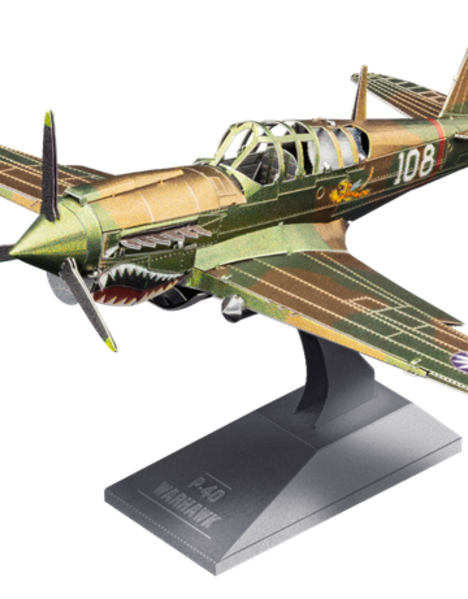 MetalEarth M.E. P-40 Warhawk