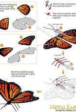 MetalEarth M.E., Monarch Butterfly, 1 sheet