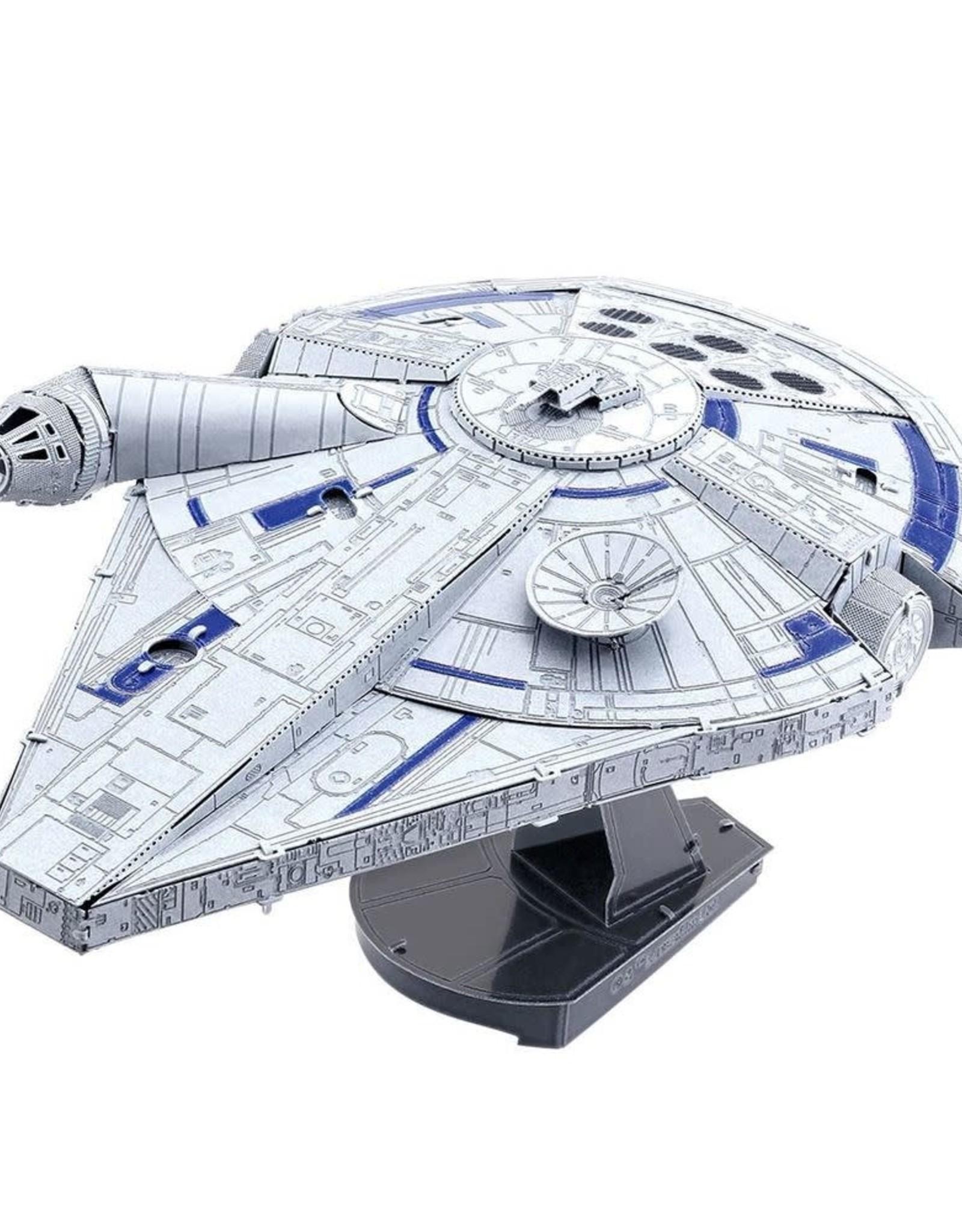 MetalEarth Iconx, Lando's Millennium  Falcon 2 sheets