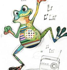 Incognito Card Kooks-Freddy Frog