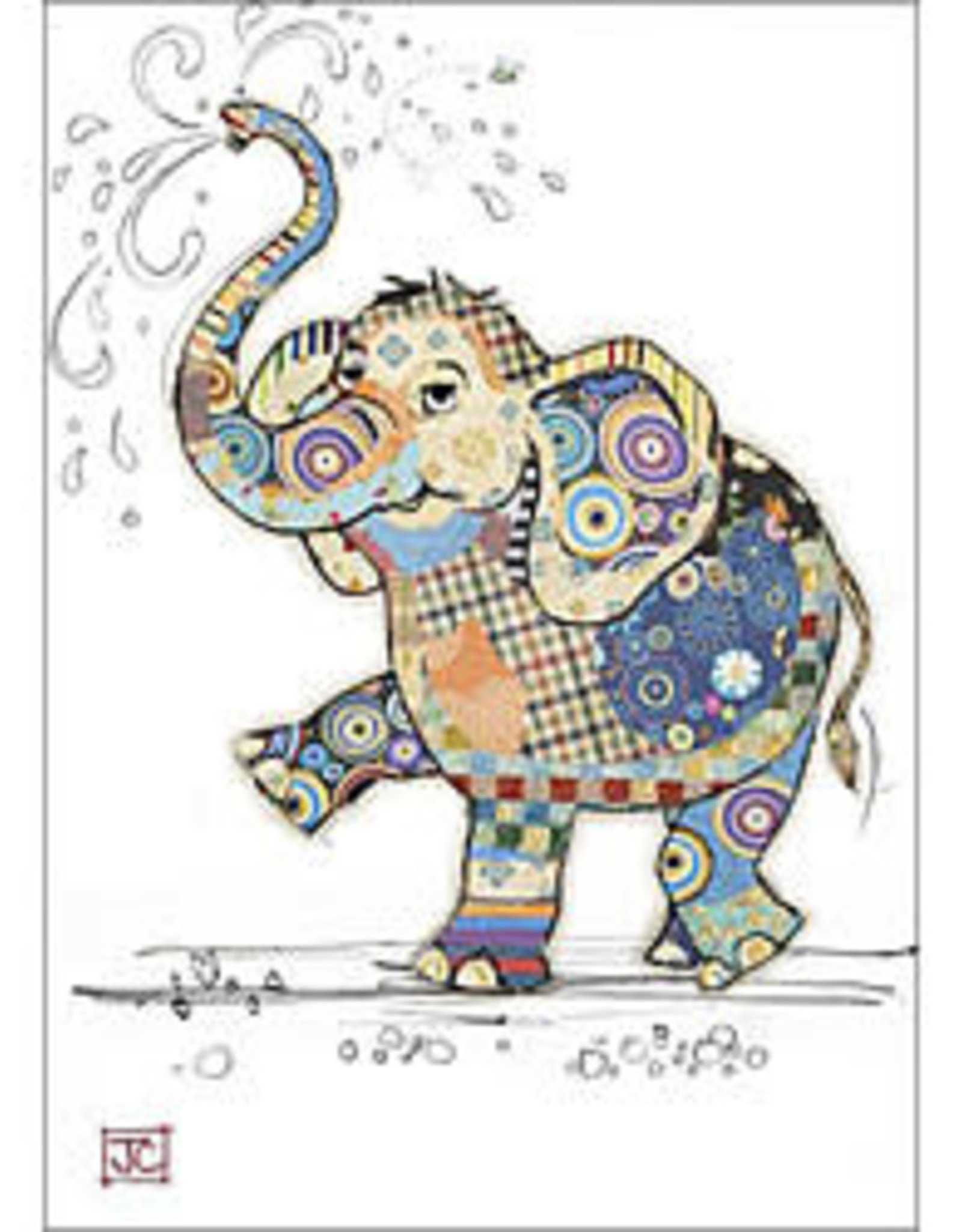 Incognito Cards Critters-Elodie Elephant