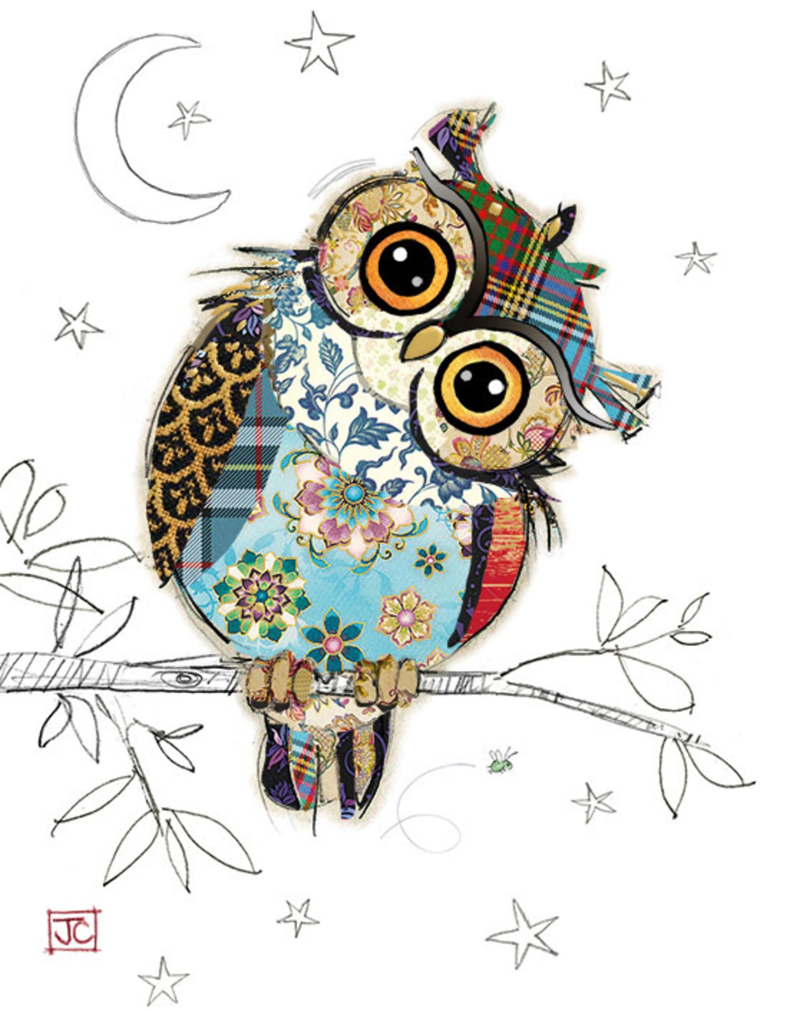 "Incognito KOOKS - OWEN OWL - BLANK (5"" X 7"")"