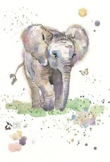 Incognito Card Critters-Baby Elephant