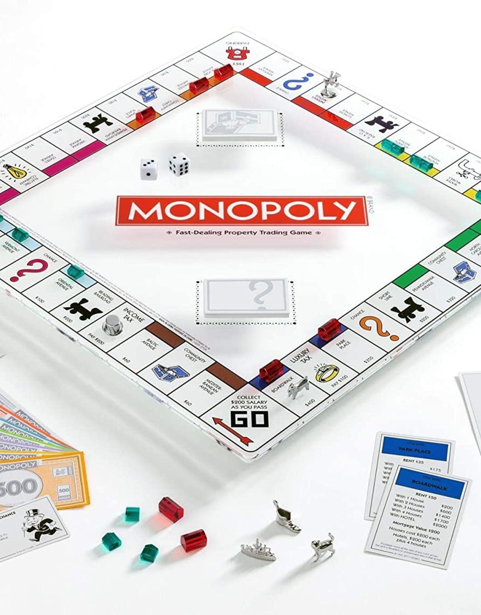 Hasbro MONOPOLY - GLASS EDITION