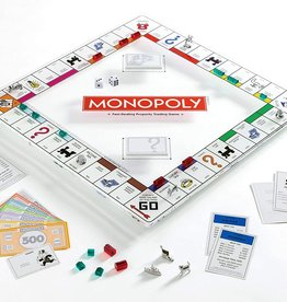 Hasbro MONOPOLY - GLASS EDITION