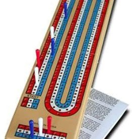 Wood Expressions 3-Track Cribbage Board