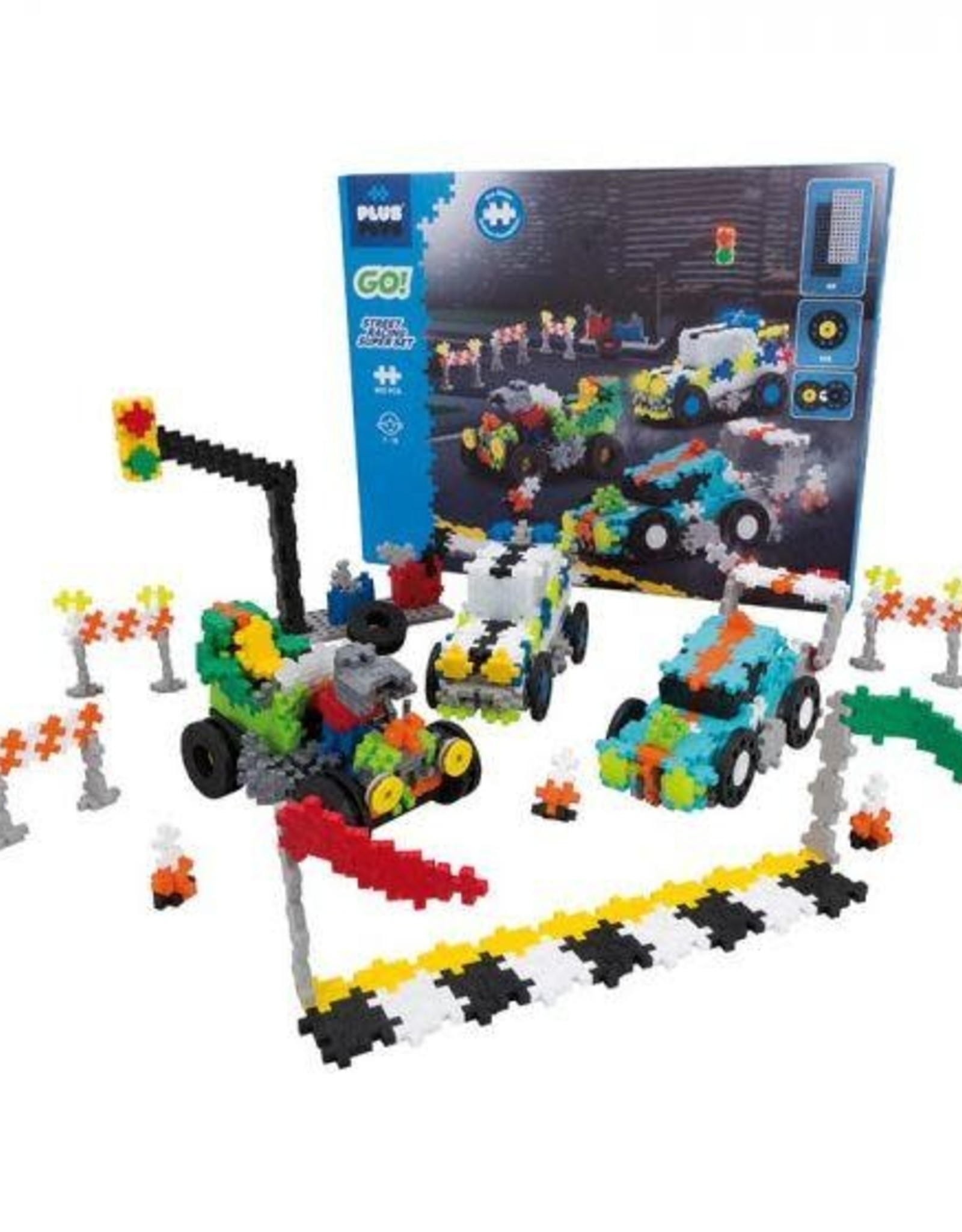 Plus Plus Plus-Plus GO Street Racing  Super Set