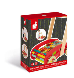 Janod Cart with ABC Blocks