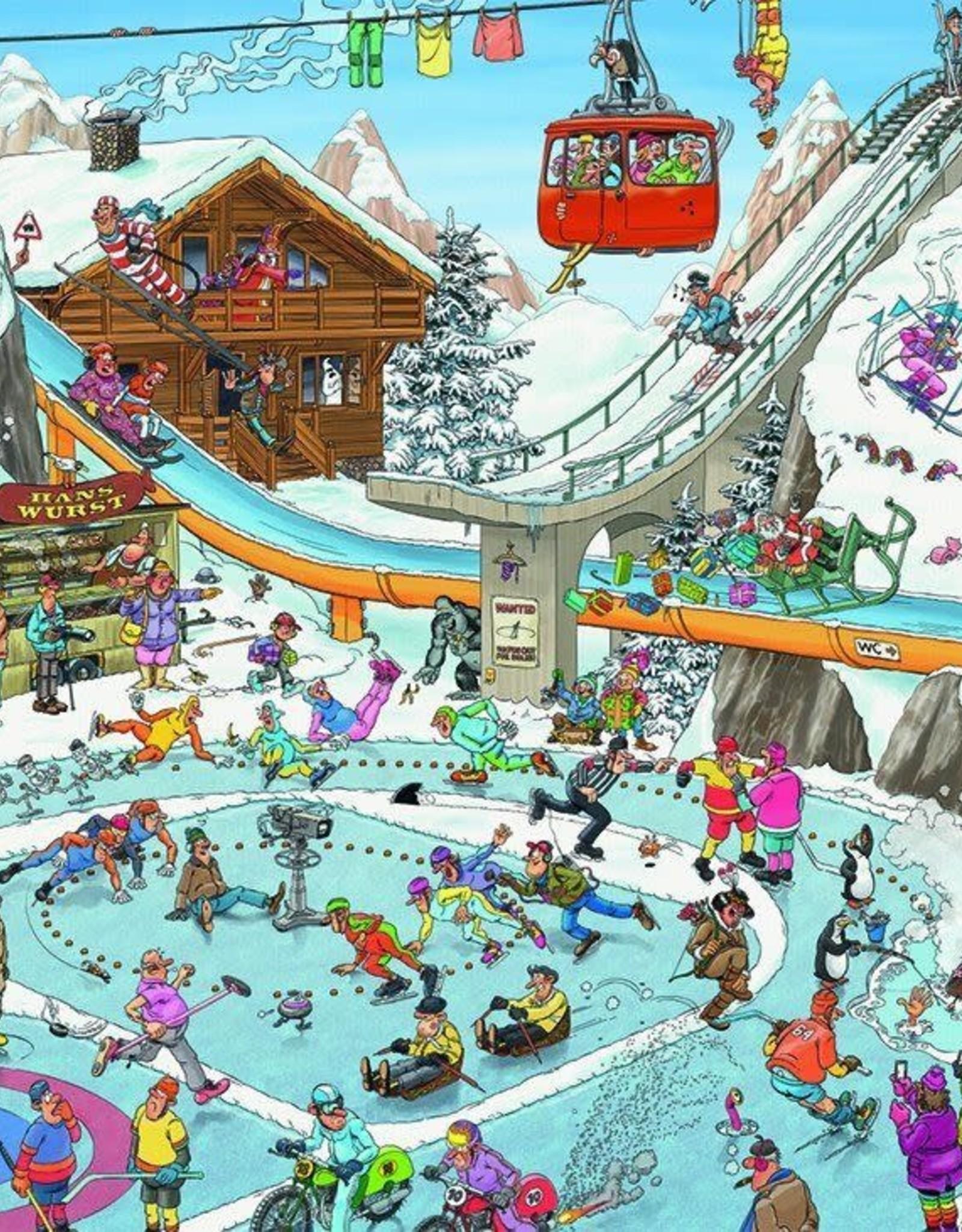 Jumbo Jan Van Haasteren: Winter Games 1000pc