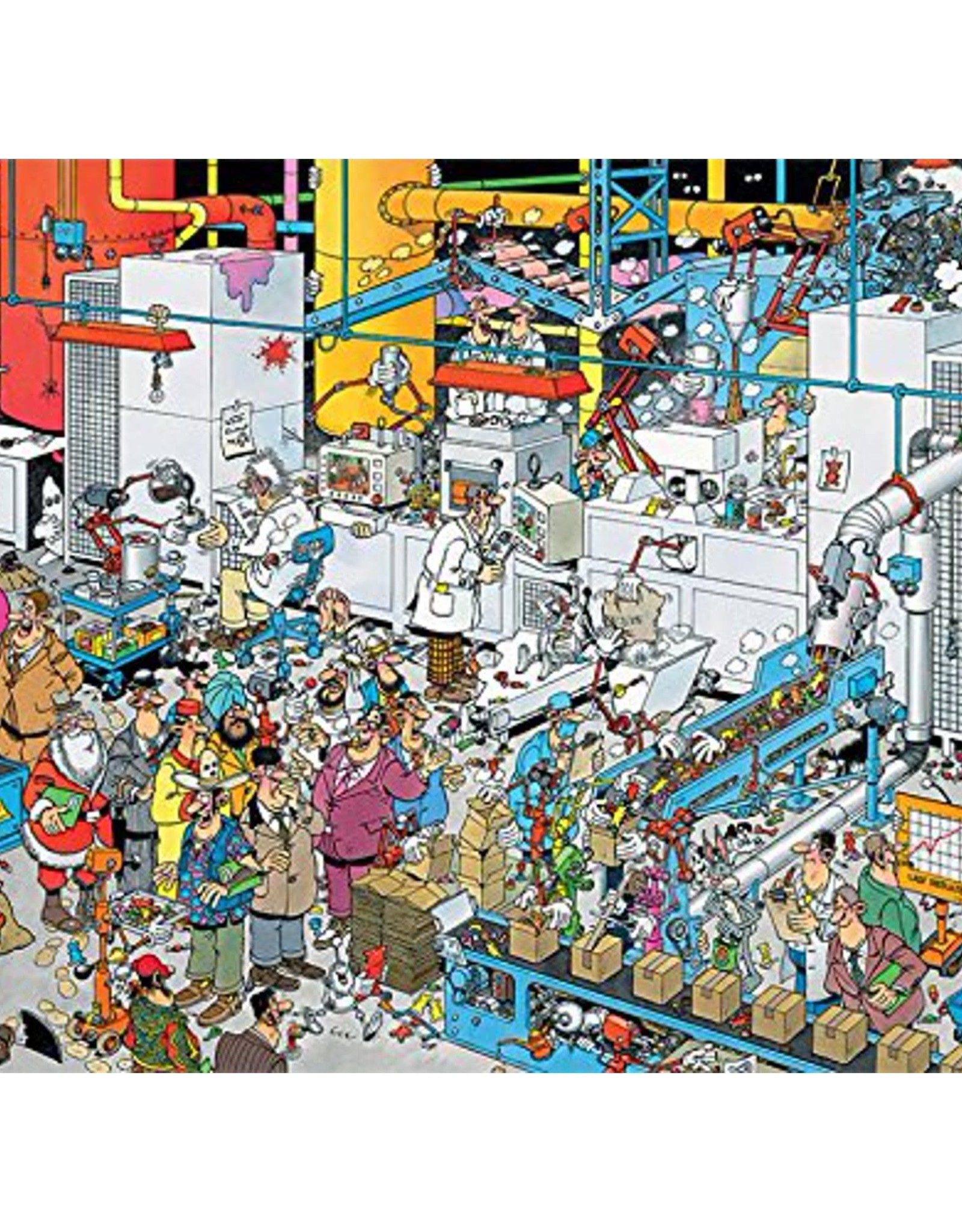 Jumbo Jan Van Haasteren: Candy Factory 500pc