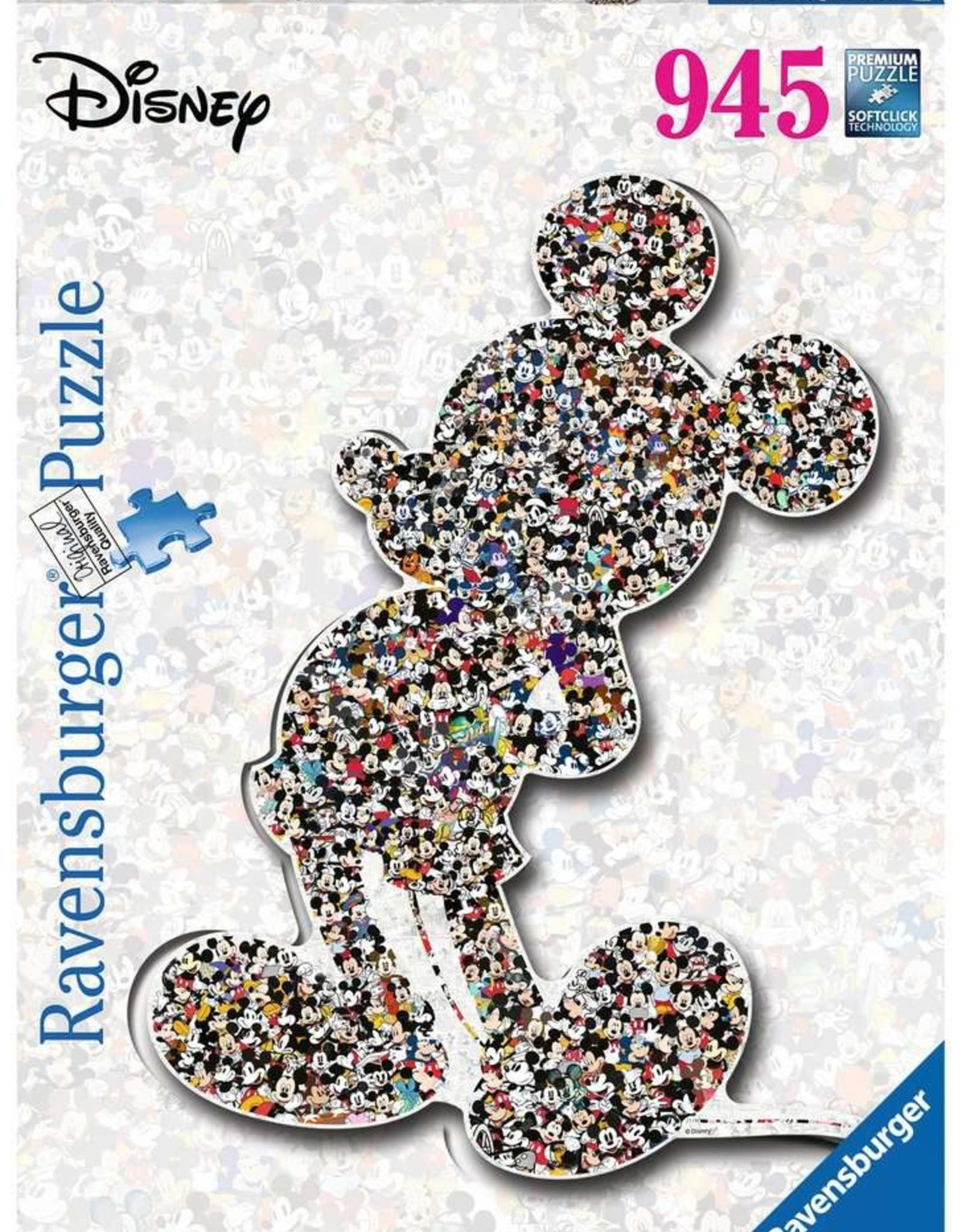Ravensburger Shaped Mickey (945pc)