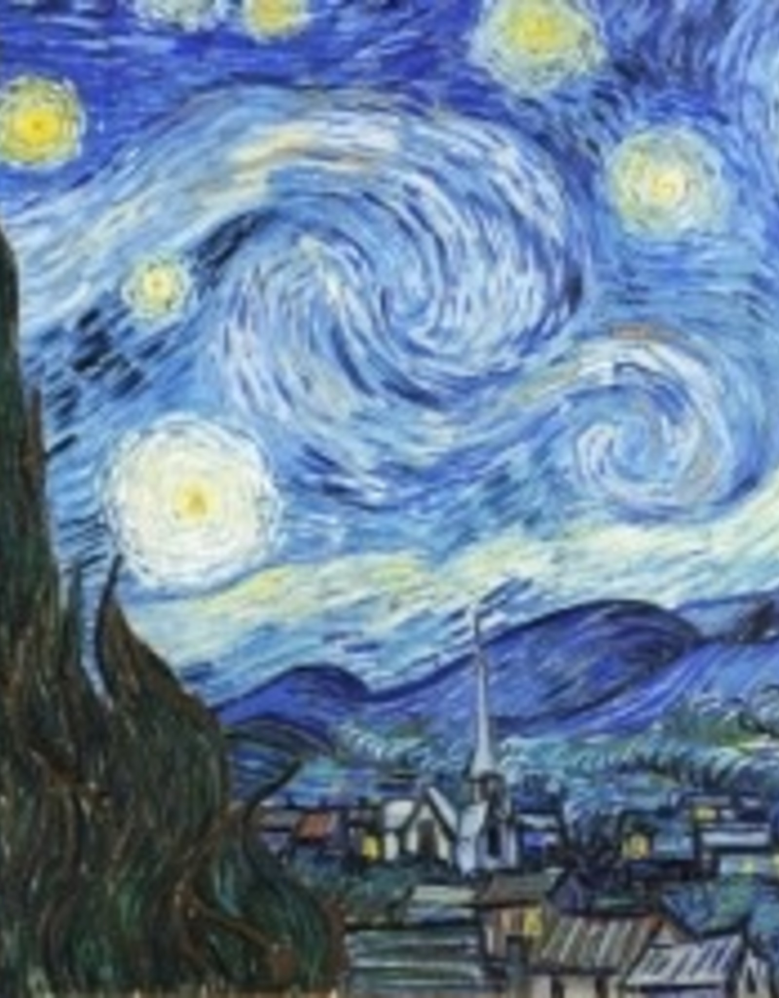 Peter Pauper Press Jigsaw Puzzle: Starry Night