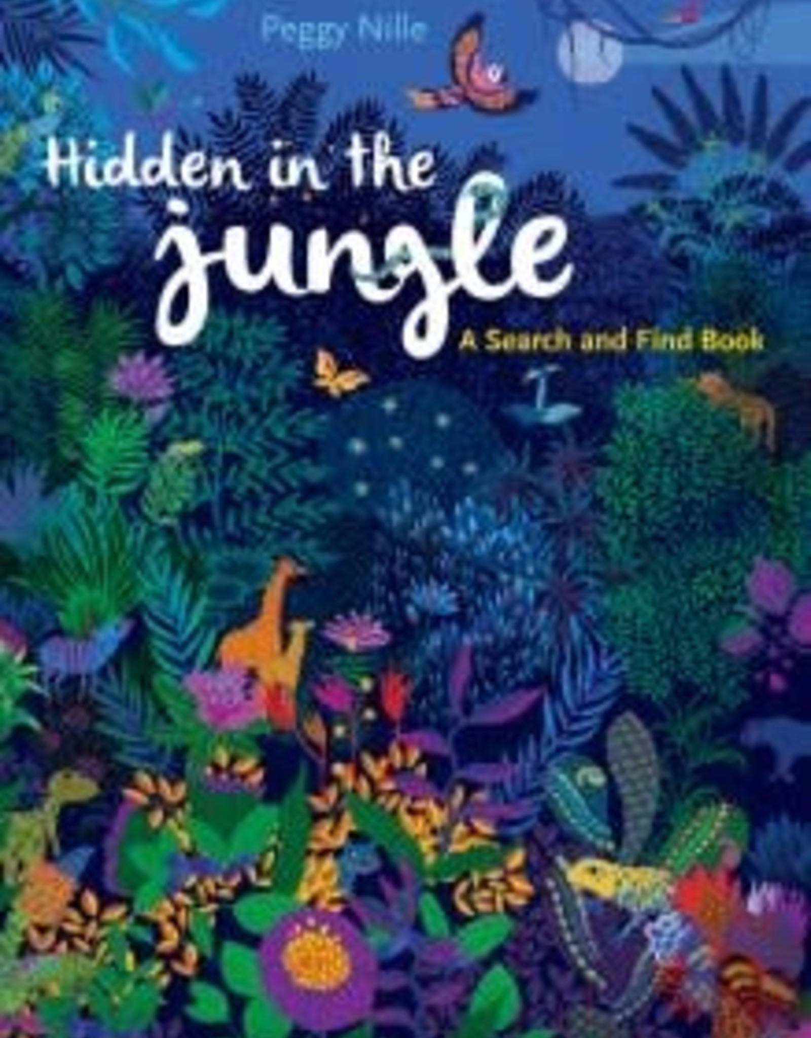 Peter Pauper Press Hidden in the Jungle: A Search and Find Book