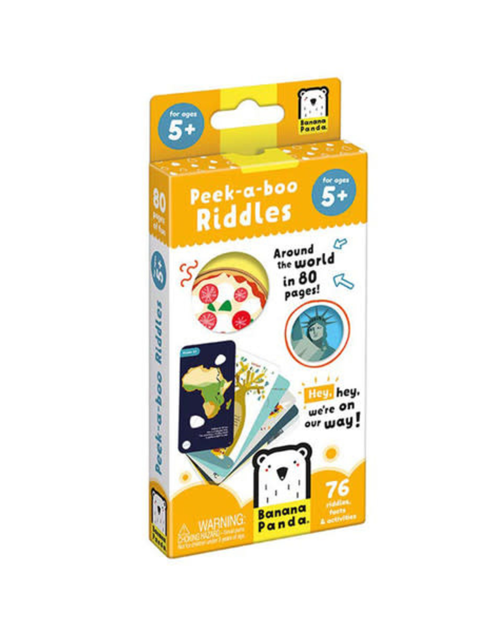 Banana Panda Peek-a-Boo Riddles Ages 5+
