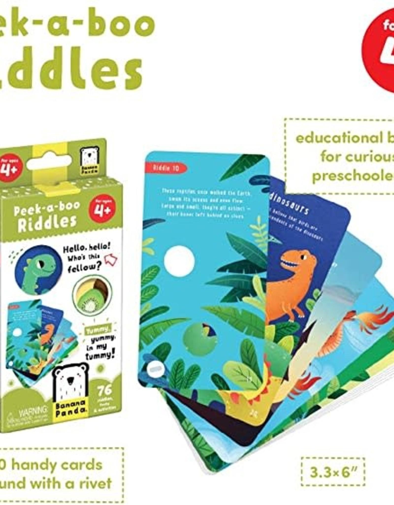 Banana Panda Peek-a-Boo Riddles Ages 4+