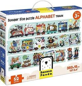 Banana Panda Suuuper Size Puzzle Alphabet Train