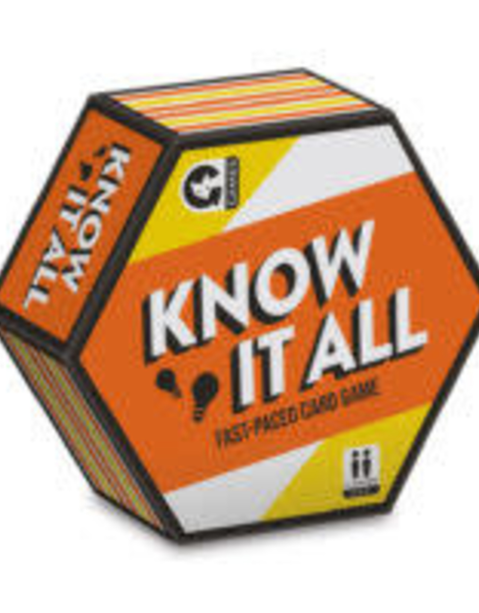 Ginger Fox HEXAGON - KNOW IT ALL