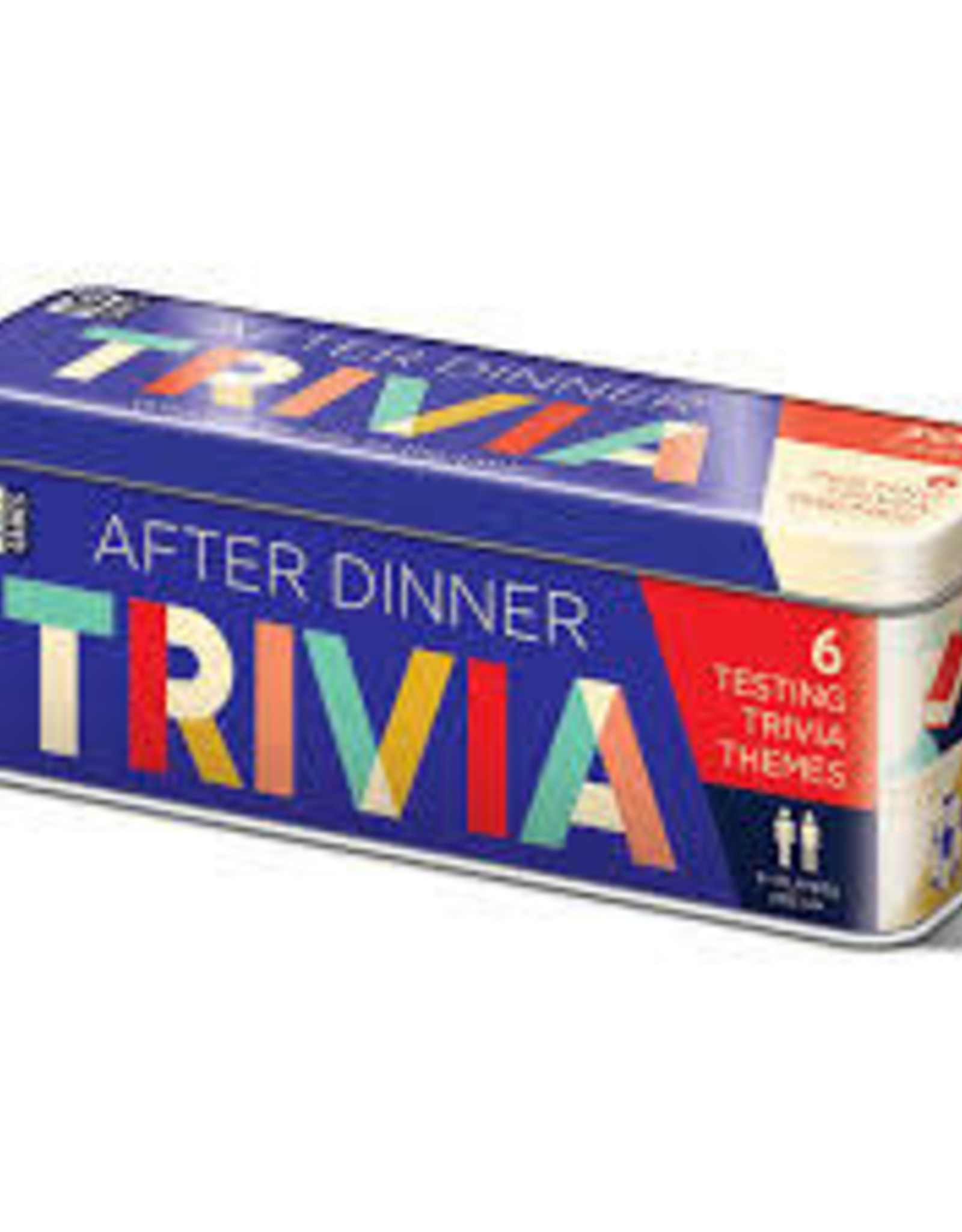 Ginger Fox AFTER DINNER TRIVIA TIN - US VERSION