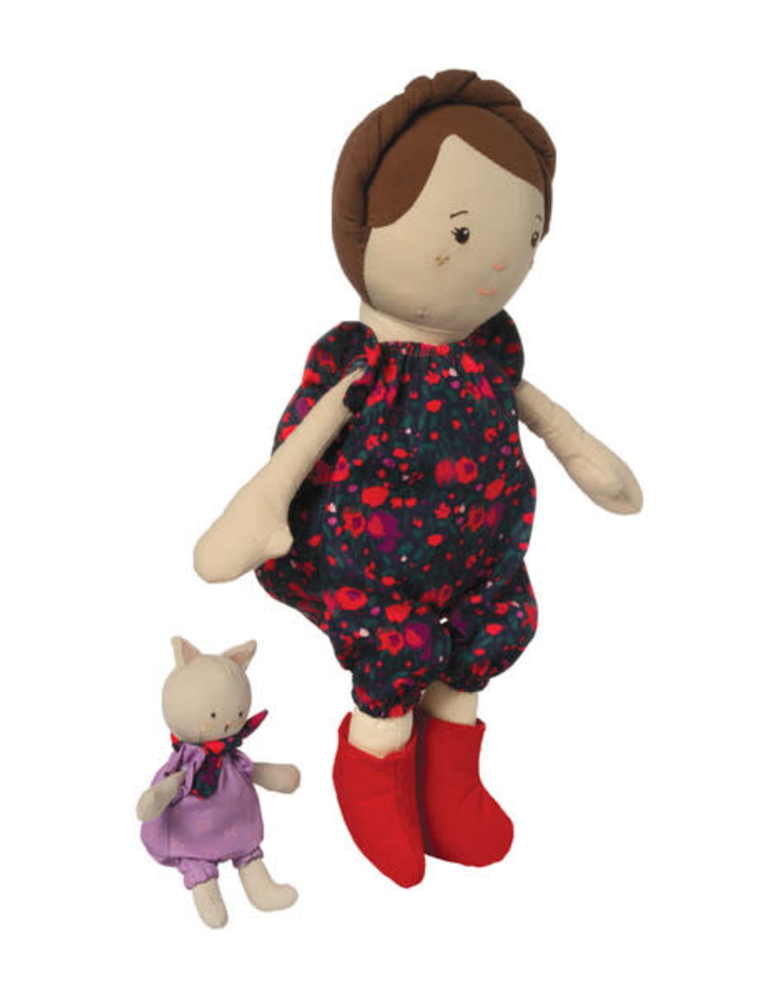 Manhattan Toy Playdate Friends - Freddie (Beige w/cat)