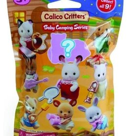 Calico Critters Baby Collectibles - Baby Camping Series