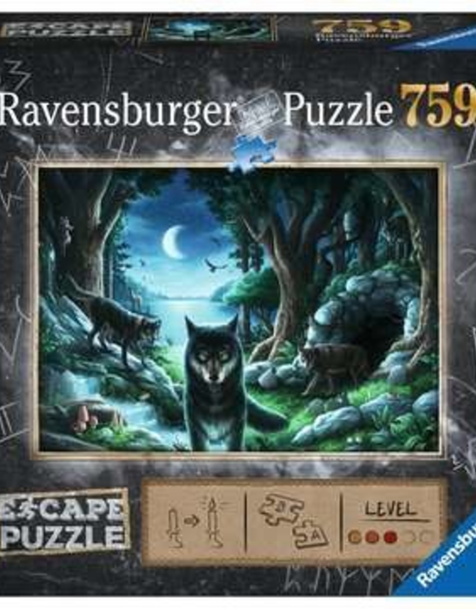 Ravensburger Curse of the Wolves (759 Pc Escape)