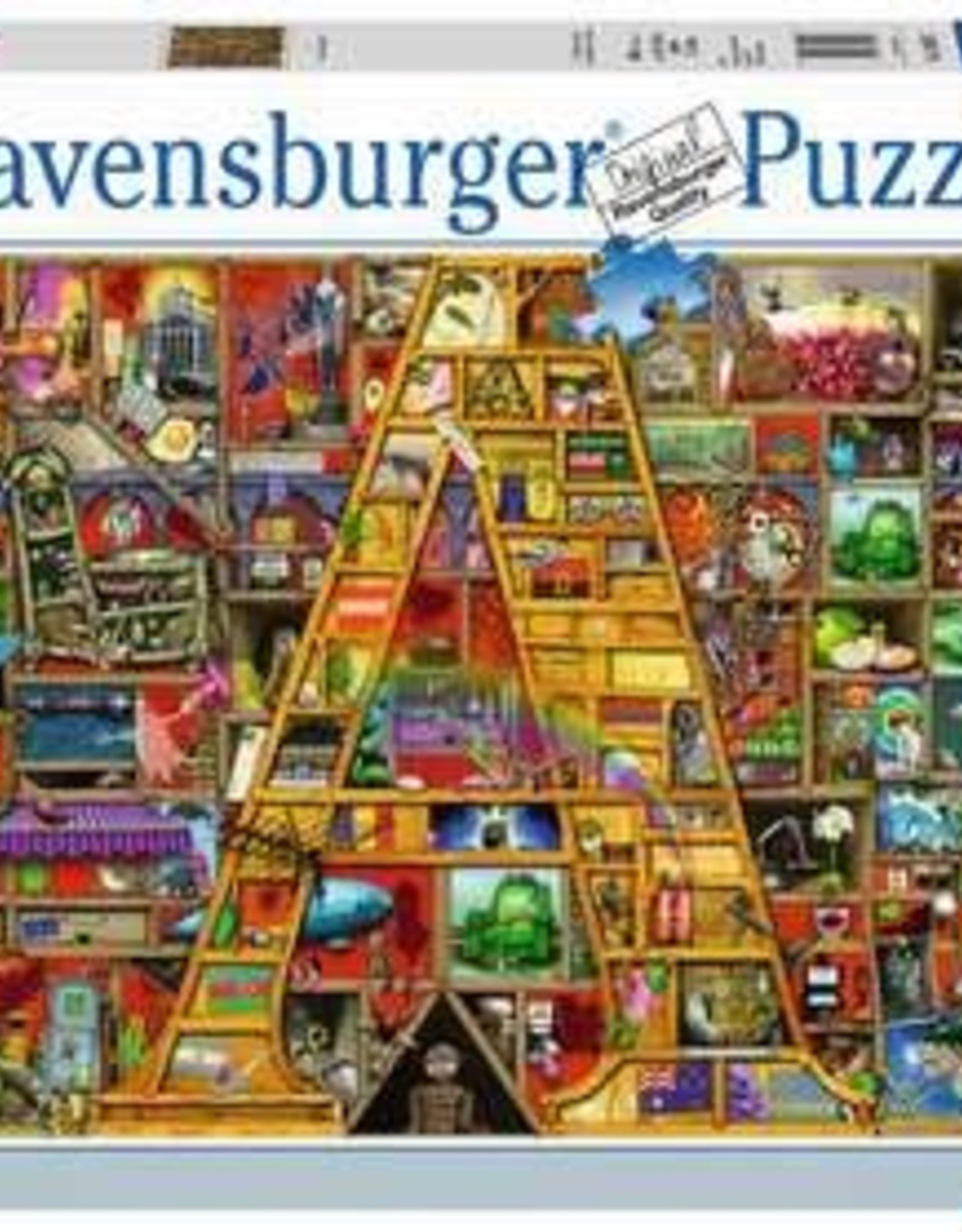 "Ravensburger Awesome Alphabet ""A"" (1000 PC)"