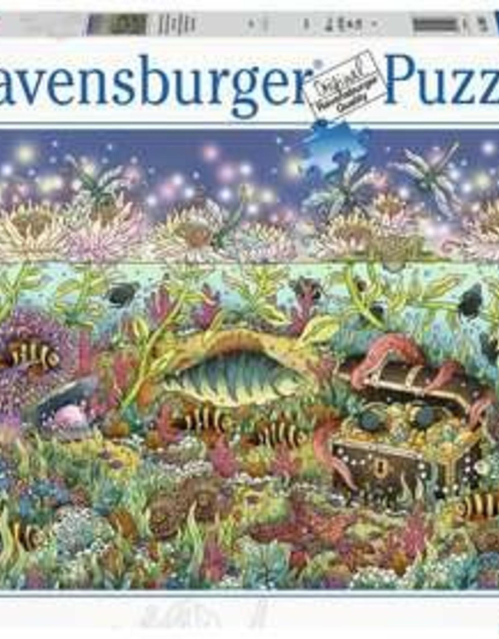 Ravensburger Underwater Kingdom at Dusk 1000 Pc