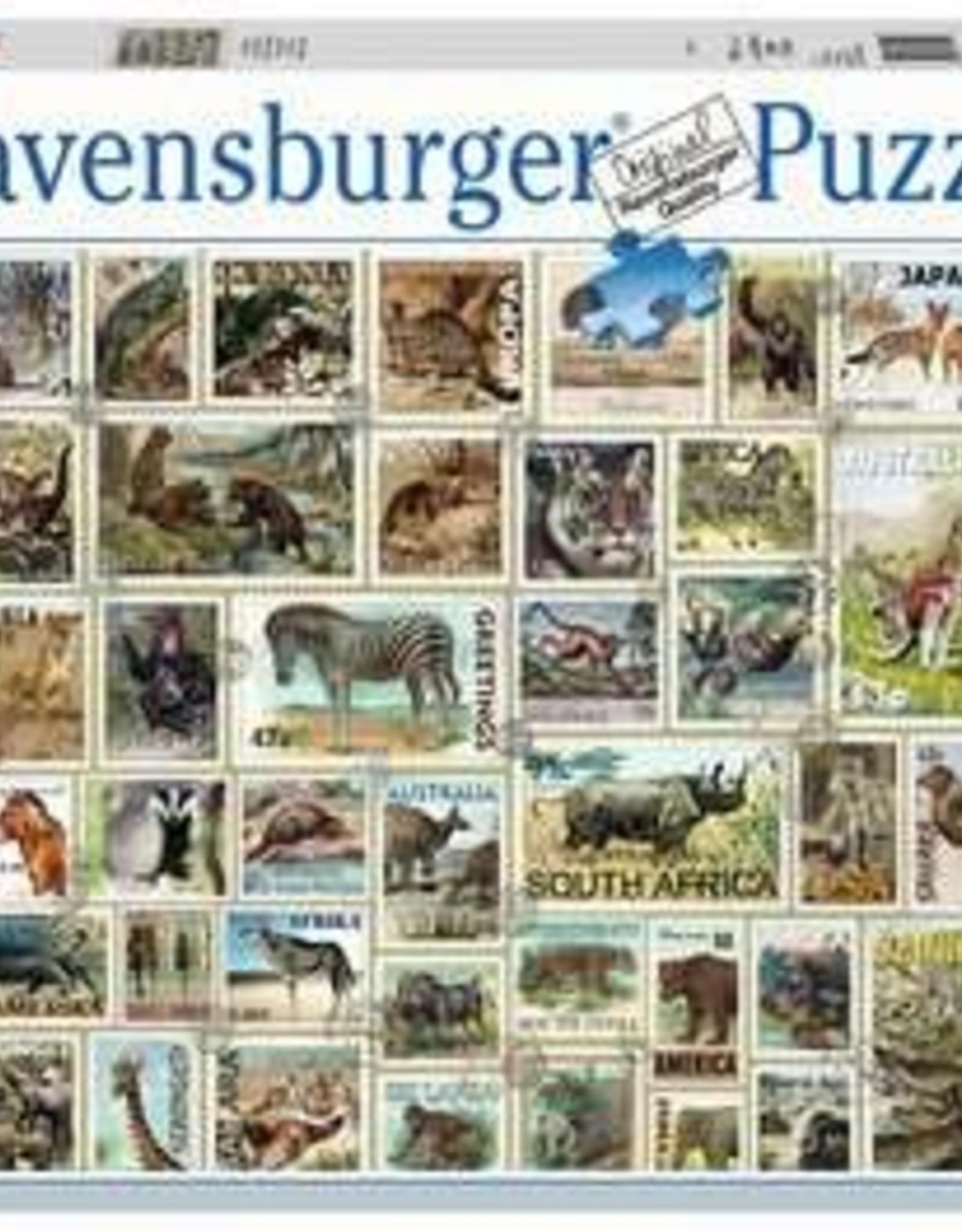 Ravensburger Animal Stamps 3000 Pc