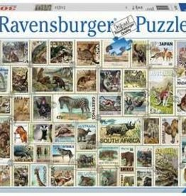 Ravensburger Animal Stamps 3000 Pc