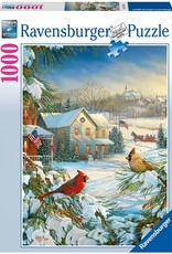 Ravensburger Winter Cardinals 1000 Pc