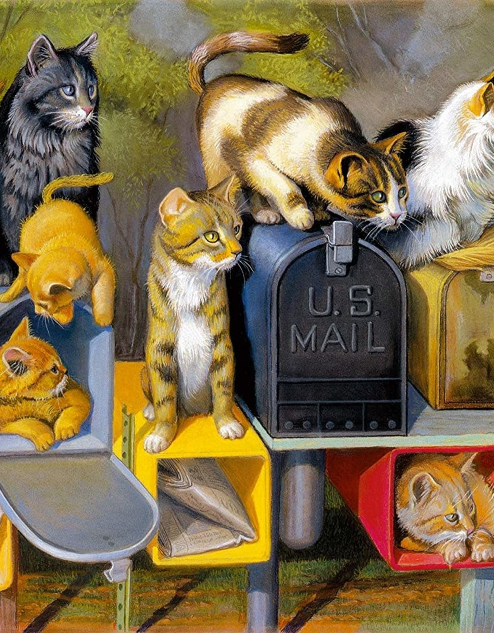 Ravensburger Cat's Got Mail (300 PC Large)