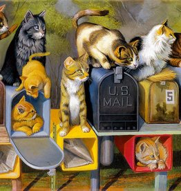 Ravensburger Cat's Got Mail (300 PC Large)