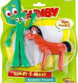 """Gumby & Pokey 6"""" Bendable"""
