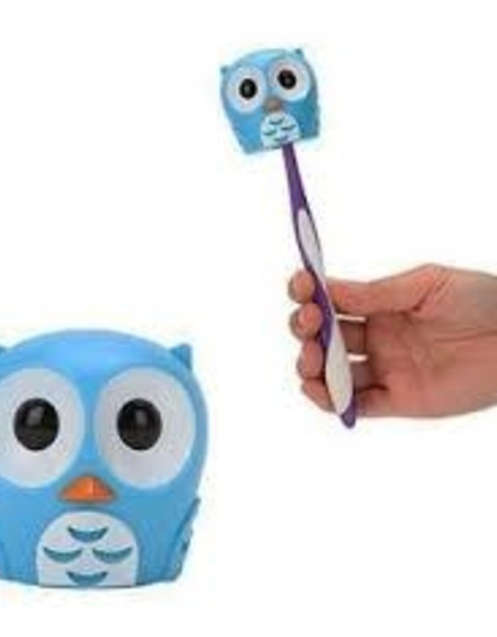 Kikkerland Toothbrush Holder Owl Blue