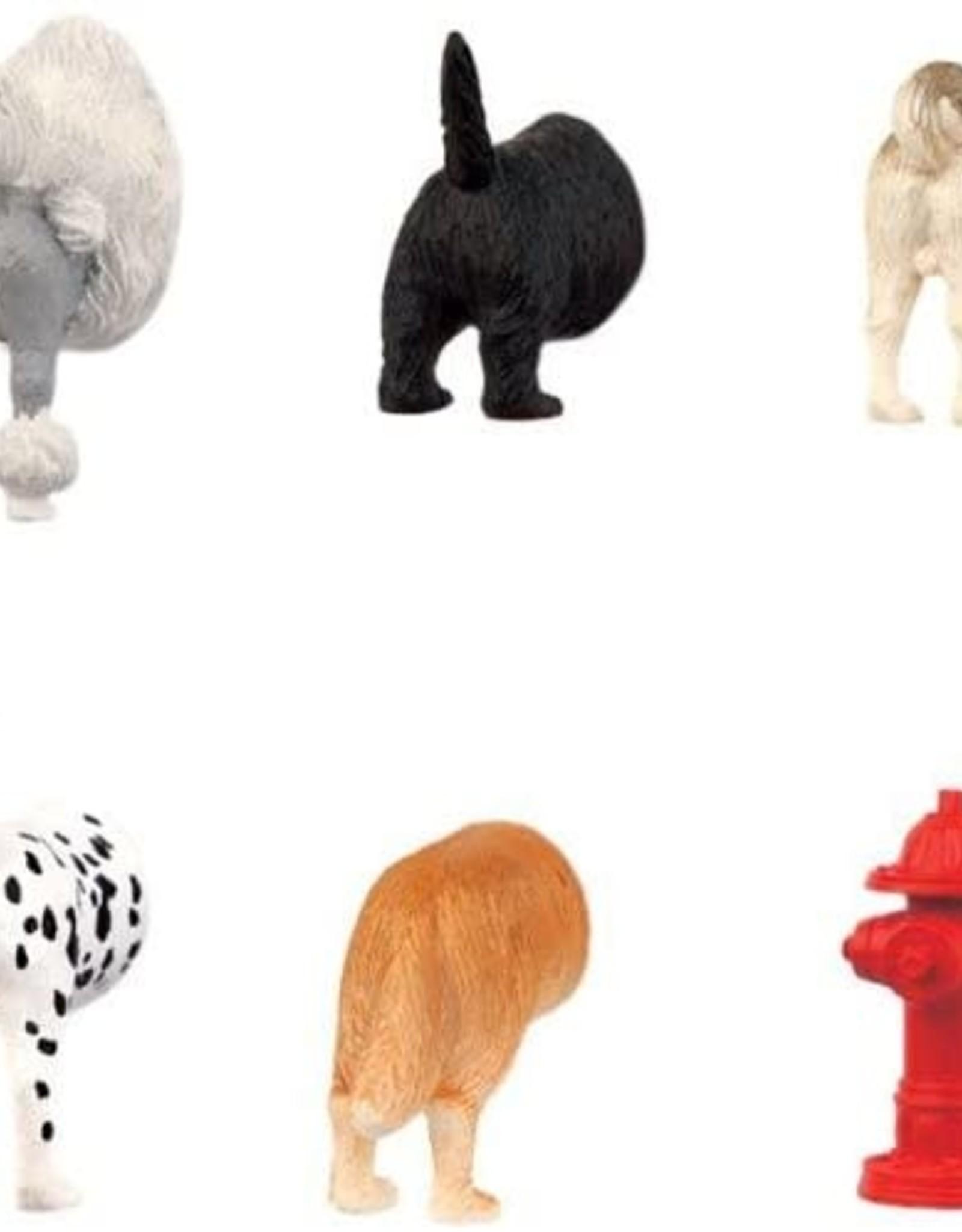 Kikkerland Butt Magnets - Dog