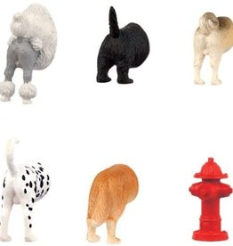 Kikkerland Butt Magnets - Dog