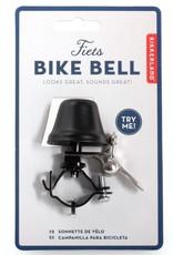 Kikkerland Bike Bell Black