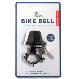 Kikkerland Bike Bell Black
