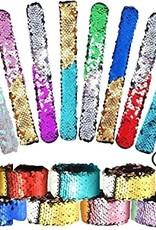 Brush Sequin Wrap Bracelet