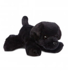 "Aurora Mini Flopsie-Blackie Dog 8"""