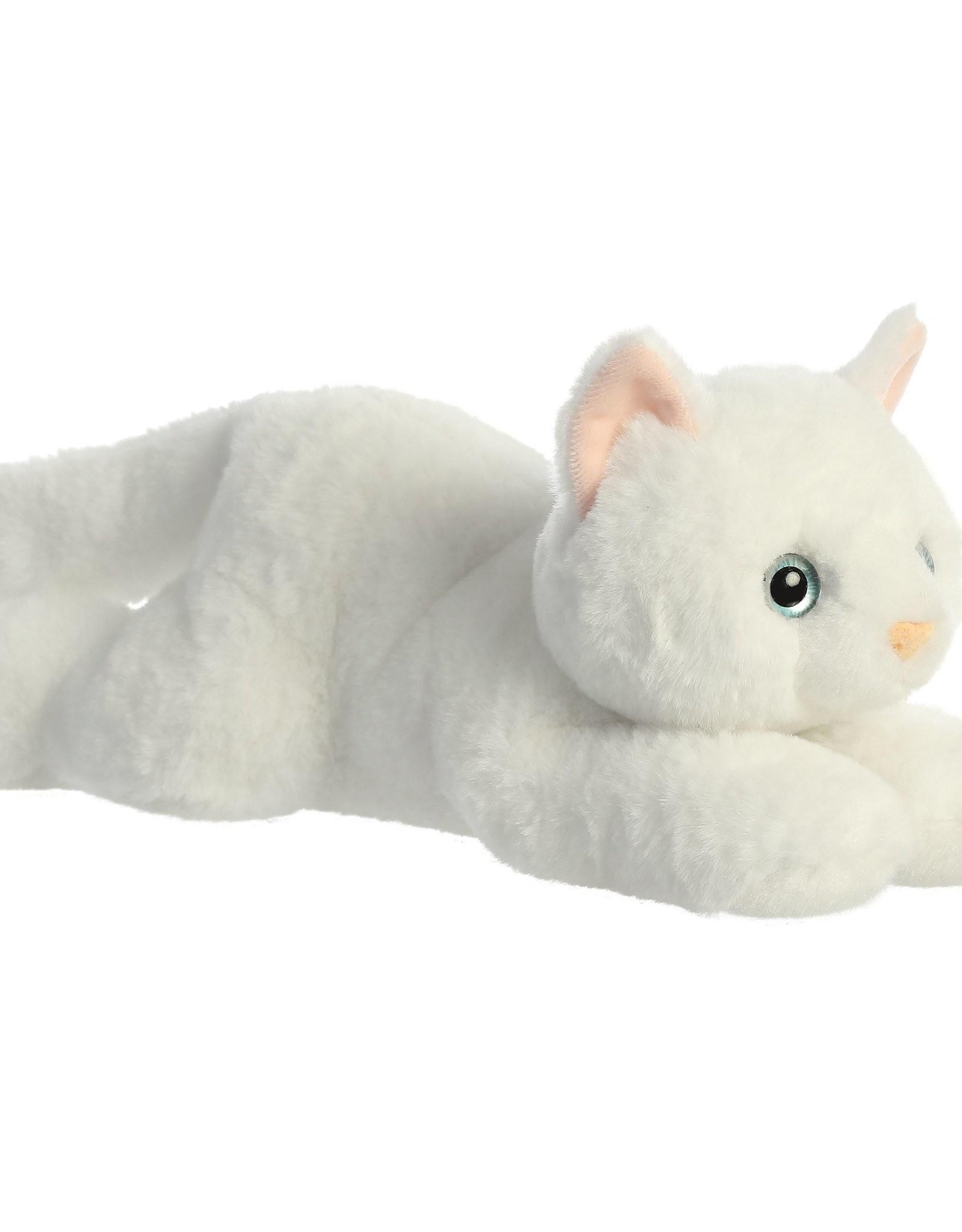 """Aurora Flopsie-Precious White Kitty 12"""""""
