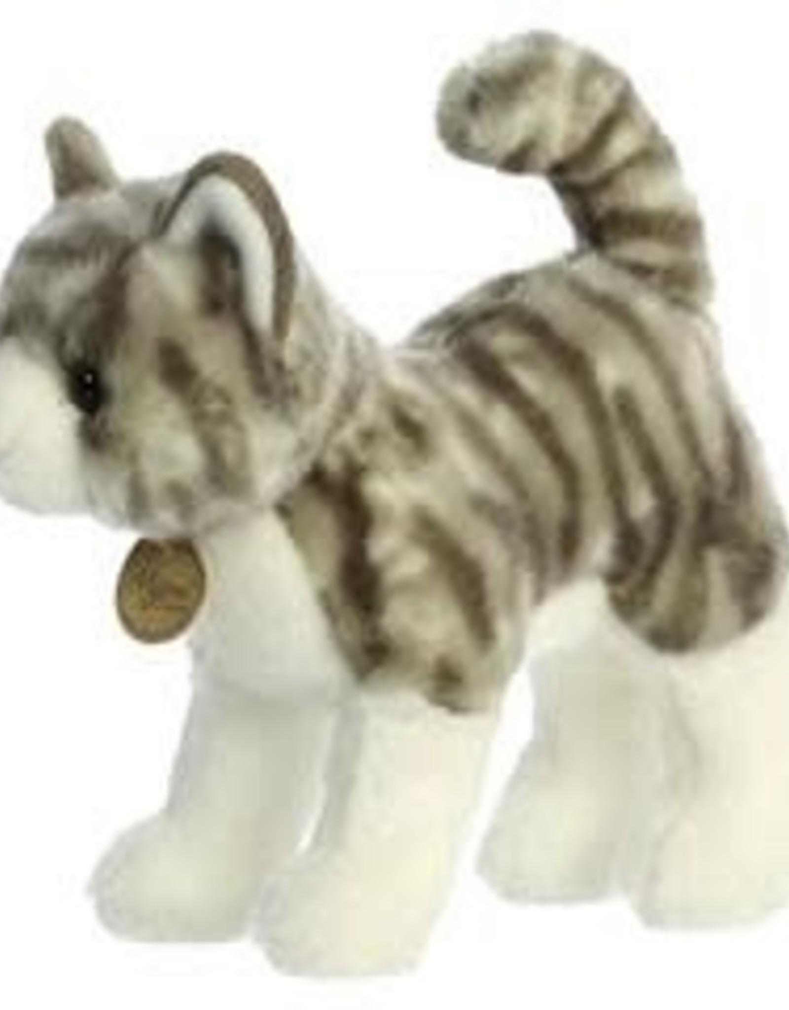 "Aurora Miyoni-Grey Tabby Cat 10"""