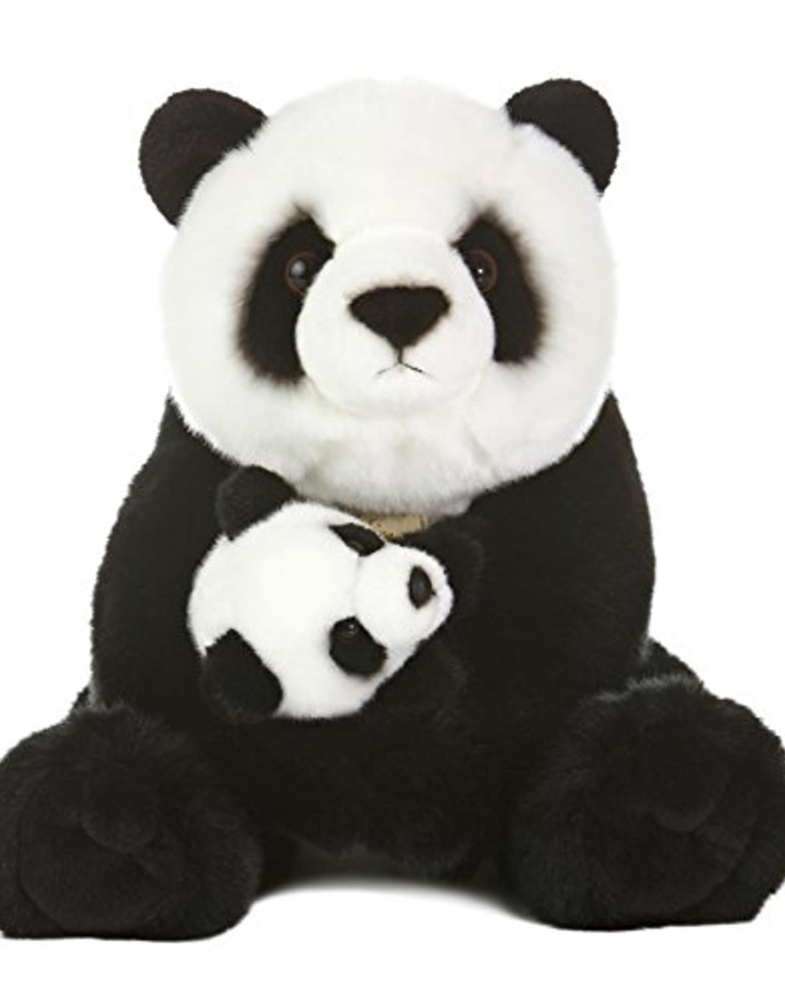 "Aurora Miyoni-Panda w/cub 15"""