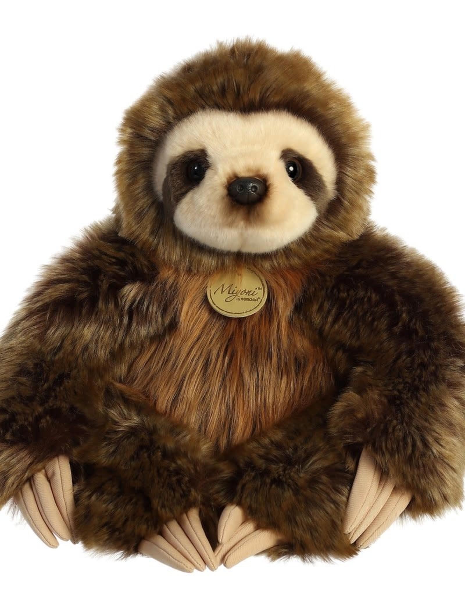 "Aurora Miyoni-Three Toed Sloth 14.5"""
