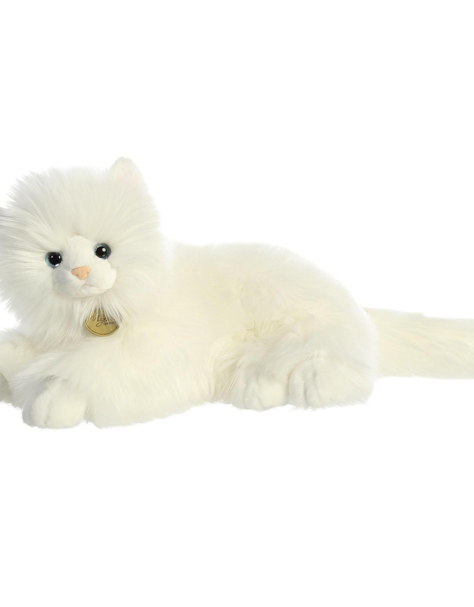 "Aurora Miyoni-White Persian Cat 14"""