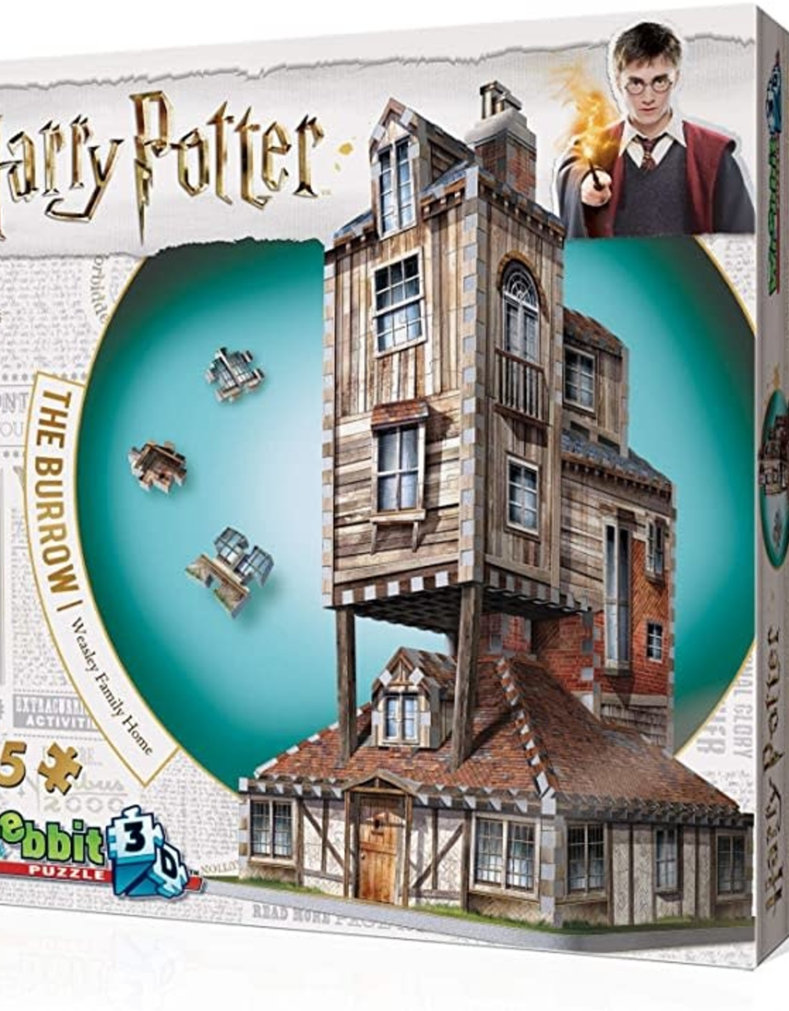 Wrebbit Harry Potter- The Burrow Weasley Family Home